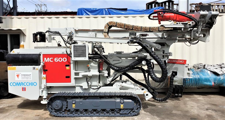 Comacchio MC600 Micropiling Drill Rig